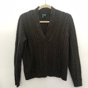 Green Ralph Lauren Sweater